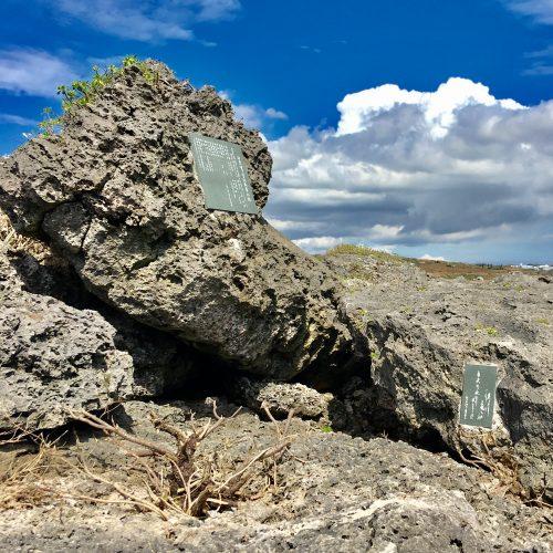 沖縄県糸満市に建立する「ひめゆりの塔」と「ひめゆり学徒散華の碑」