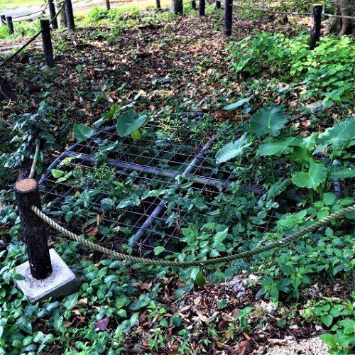 糸満市喜屋武の喜屋武公園内にある「トンヌマー壕」