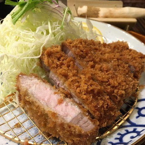 鹿児島県姶良市「万さく」で南国黒豚ロースかつ膳を頂きました!