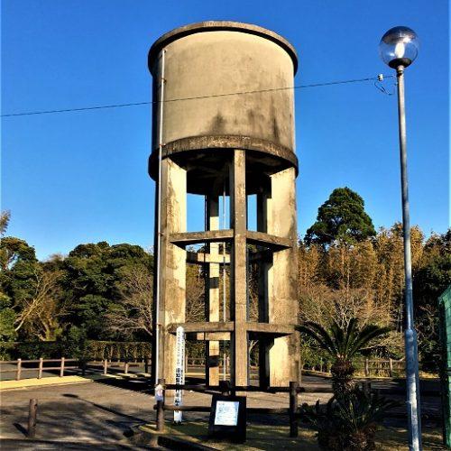 南九州市知覧町に残る「給水塔跡」