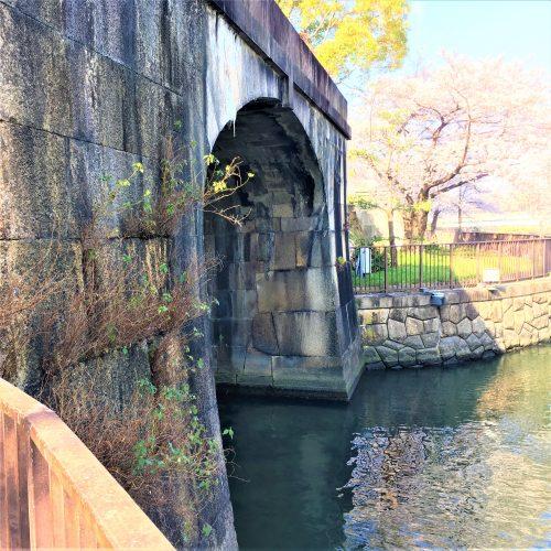 大阪城に残る「砲兵工廠荷揚げ門」