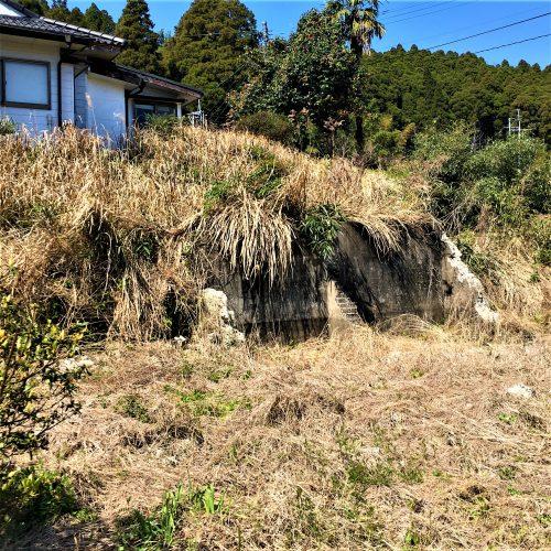 鹿児島県曽於市に残る「貯水槽跡」