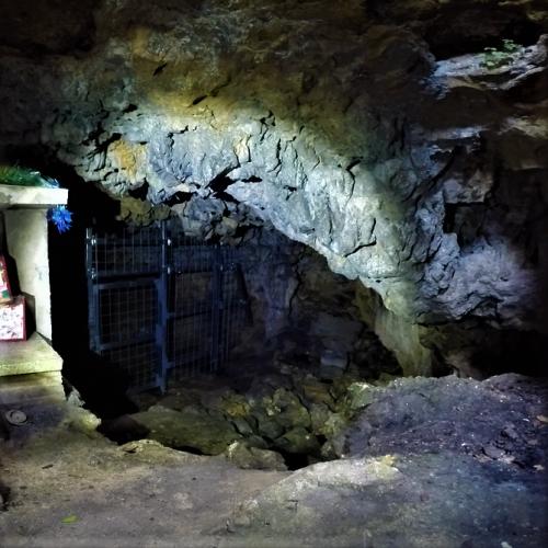 那覇市識名の地下にある「識名壕跡」